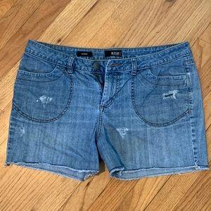 A. N. A. Light Wash Denim Shorts